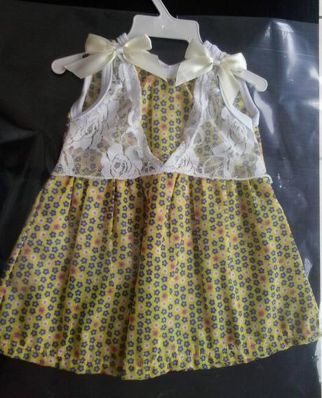 Vestido Pequenas Flores