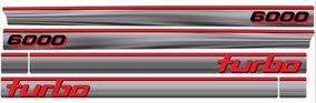 Adesivo Caminhonete Chevrolet D6000 Turbo Ano 94