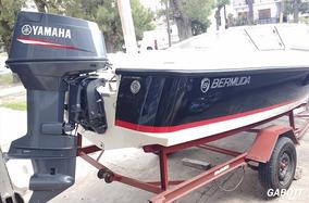Lancha Bermuda 160 Open Con Motor Yamaha 70 Hp 0km Completa