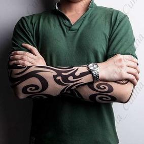 1 Peça Manga Tatuagem Falsa Fake Tattoo R:929