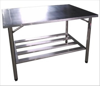Mesa Bancada Em Aço Inox 430 150x60x85 Promocional