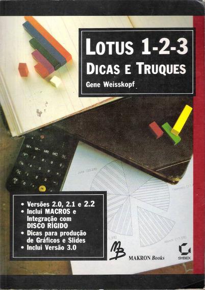 Lotus 1-2-3 Dicas E Truques Gene Weisskopf