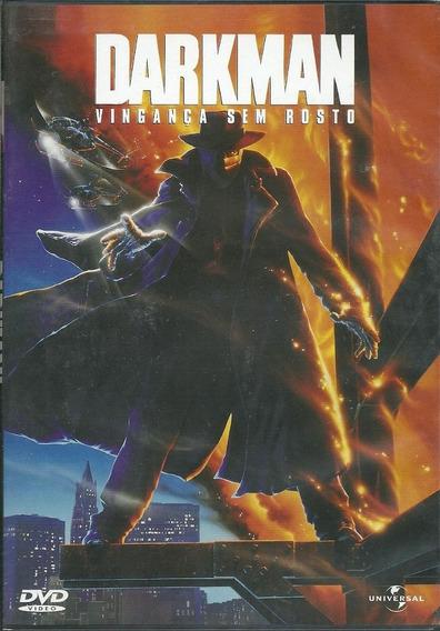 Dvd-darkman:vingança Sem Rosto-otimo Estado.