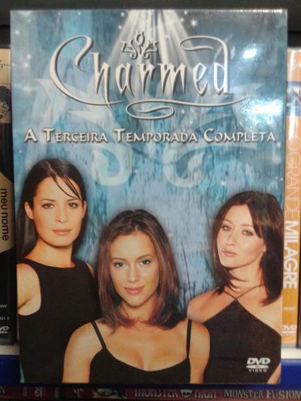 Dvd Charmed 3ª Temporada 06 Discos