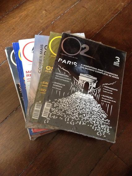Revista O2 Coleção De Assinante 17 Exemplares!