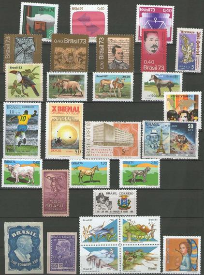 Lotaço 194 Selos Comemorativos Novos - Valem + R$600