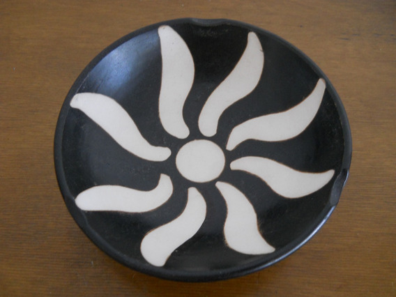Cenicero/recipiente De Cerámica Chulucana (piura, Perú)