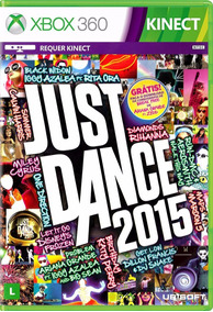 Just Dance 2015 - Xbox 360 - Original - Semi Novo