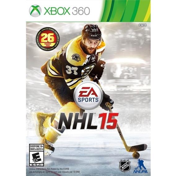 Jogo Novo Lacrado Ntsc Ea Sports Nhl 15 Para Xbox 360