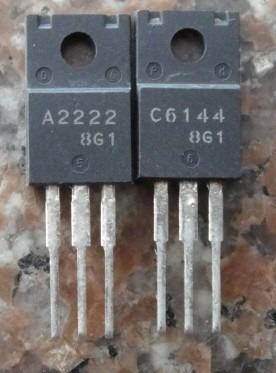 Kit 2 Transistor A2222 C6144 Epson Compre 2 Pares Leve 3