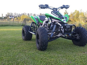 Atv Kawasaki Kfx 450 R Competicion Green Team Usa Unico !!