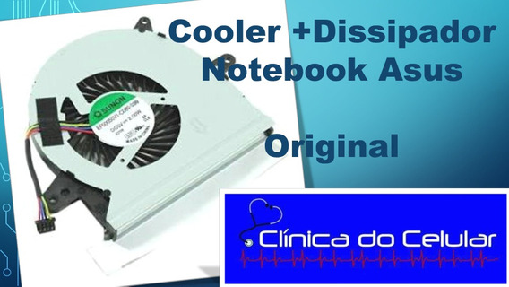 Cooler + Dissipador Notebook Asus X401u Original