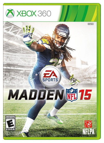 Jogo Novo Lacrado Ntsc Ea Games Madden Nfl 15 Para Xbox 360