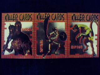 Killer Cards (revista Ação Games) - 3 Cards