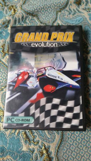 Clássico Grand Prix Evolution Para Pc Original