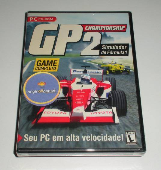 Gp Championship 2 ¦ Jogo Pc Original Lacrado ¦ M Física