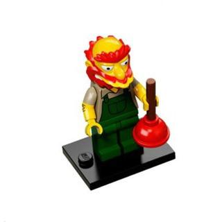 Lego Simpsons Serie 2-willie El Escocés