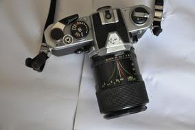 Câmera Nikon Fm Analógica Com Lente 35.70mm
