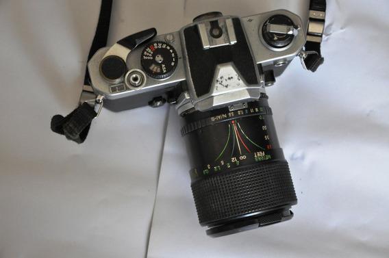 Câmera Nikon Fm Analógica C/lente 35-70mm