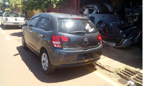 Sucata Citroen C3 Exclusive 1.6 16v 2014
