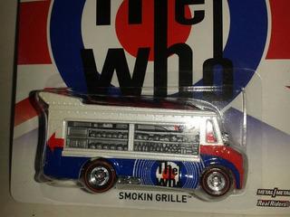 Miniatura Food Truck Smokin Grille Hot Wheels Nova !!!