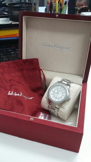 Relógio Salvatore Ferragamo - Modelo Lugarno Xl - Automático