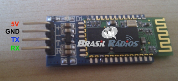 Módulo Bluetooth Rs232 Hc-05 Arduino Master E Slave Pic
