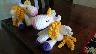 Unicornios, Ponys, Pegasos Tejidos Crochet