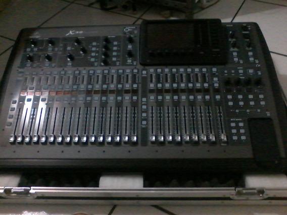 Mesa De Som X32 Full Com Case Nova
