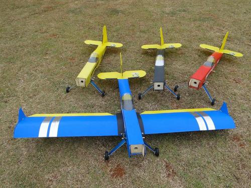 Imagem 1 de 3 de Aeromodelo Pastinha Asa Baixa Artal Asa Baioneta