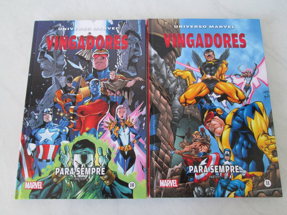Vingadores Para Sempre - 2 Vol- Edição Luxo- Capa Dura- 2014