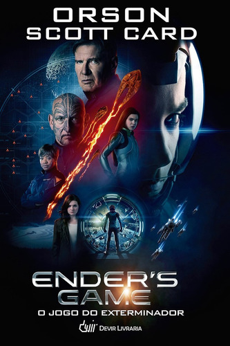 Enders Game - O Jogo Do Exterminador (capa Dura) - Lacrado -