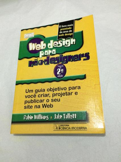 Livro Web Designer Para Não Designers