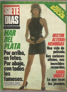 Siete Dias / Nª 1014 / 1987 / Nota Hector Alterio /