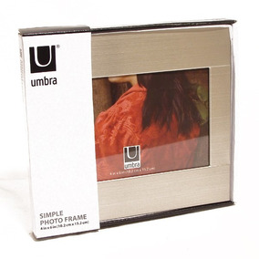 Porta Retrato Simple Photo Frame 10,2 Cm X 15,2 Cm Umbra