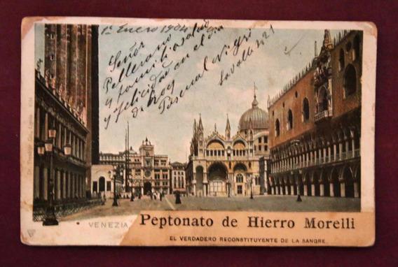 Antigua Tarjeta Postal - Venezia 1904