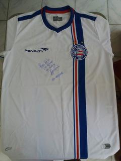 Camisa Original Penalty Do E.c.baha-autografada.