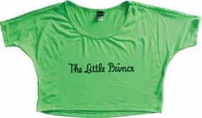 El Principito Crop Top The Little Prince Dama