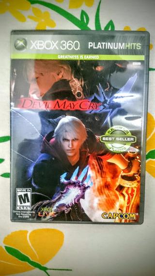 Devil May Cry 4 Xbox 360 Midia Fisica Frete R$10
