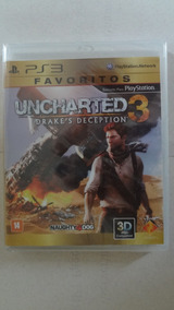 Uncharted 3 Para Ps3 Novo E Lacrado