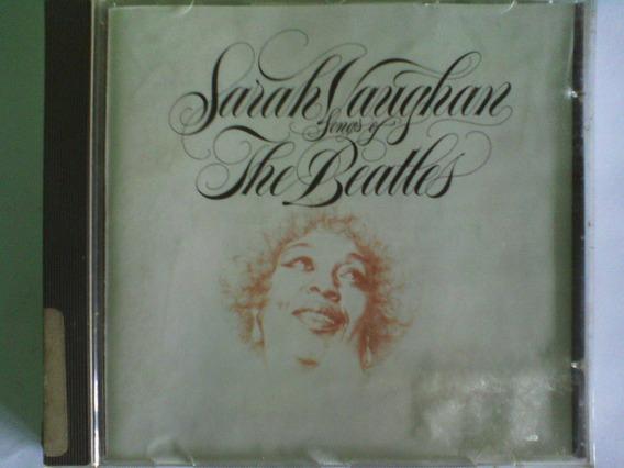 Raridade Cd Sarah Voughan Songs The Beatles