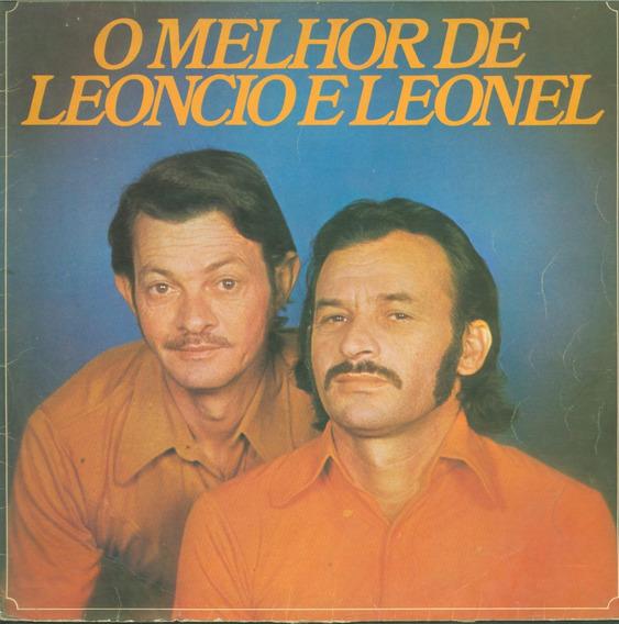 Lp O Melhor De Leoncio E Leonel - 1977 Sertanejo