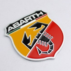 Emblema Fiat Abarth - Adesivo