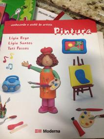 Livro Conhecendo O Ateliê Do Artista Pintura ( Novo)