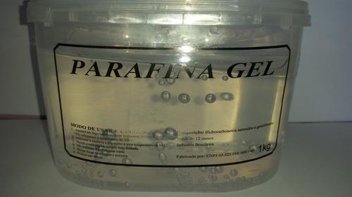 Parafina Gel Cristal - 1kg (confecção De Terrários E Velas)