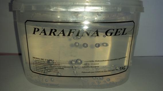 Parafina Gel Cristal - 2kg +2 Corantes De 7 Gramas Cada
