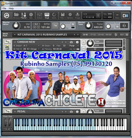 Kit Sample Carnaval