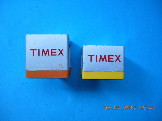 Exhibidores Juego Bases 2 Pzas P/ Porta Reloj Timex