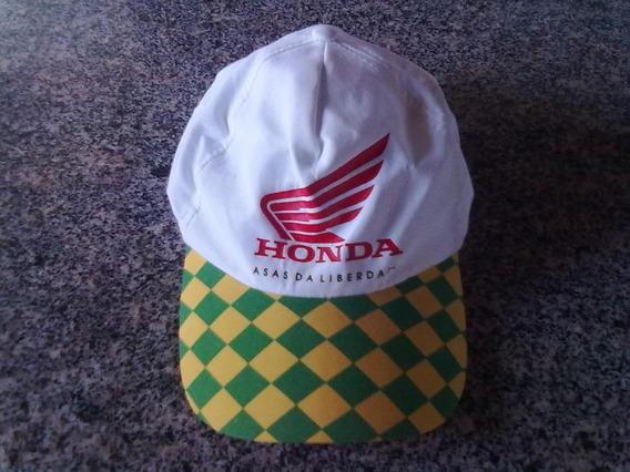Boné Promocional Da Motos Honda Anos 2000