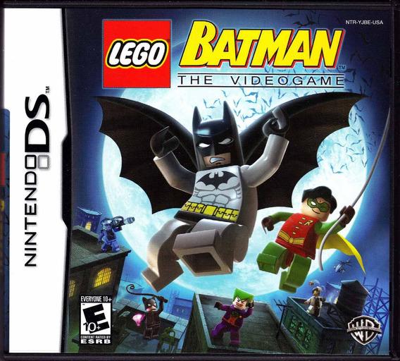 Lego Batman Ds 3ds 2ds Apenas O Game Original